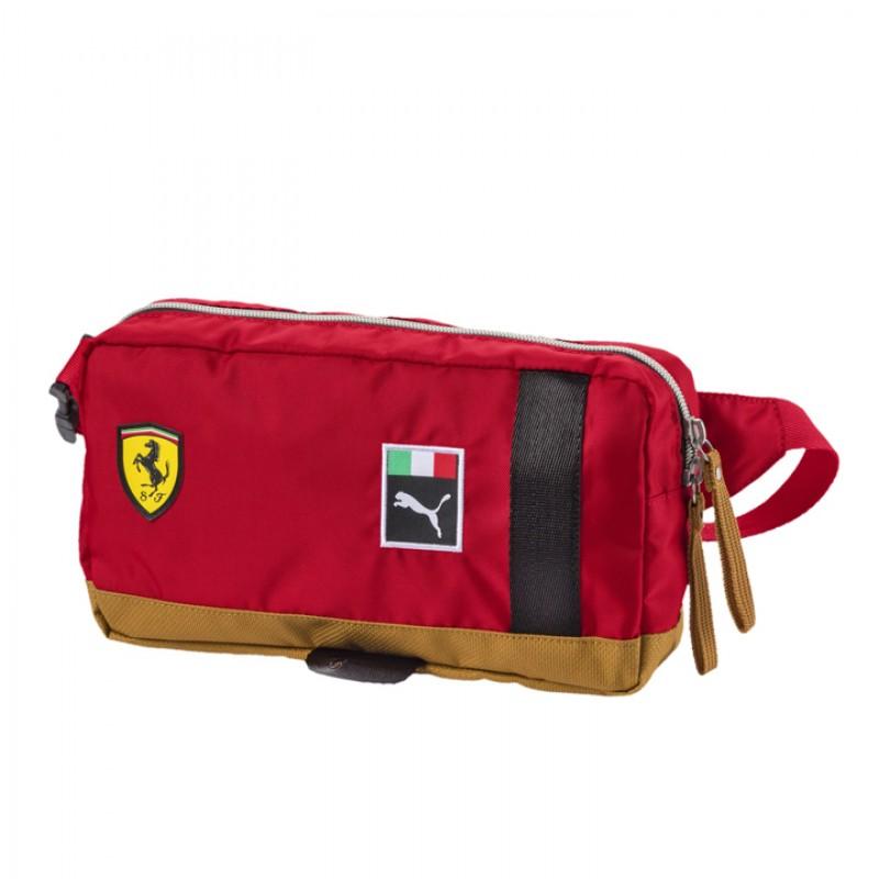 Tas Sneakers Puma Scuderia Ferrari Fanwear Waist Bag Red