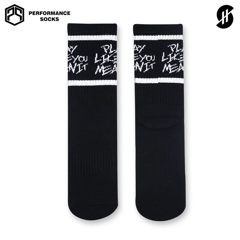 Kaos Kaki basket Stay Hoops Play Like You Mean It Socks