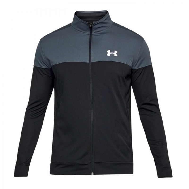 Jual Pakaian Training Under Armour Sportstyle Pique Jacket Black Original  2efca4e220