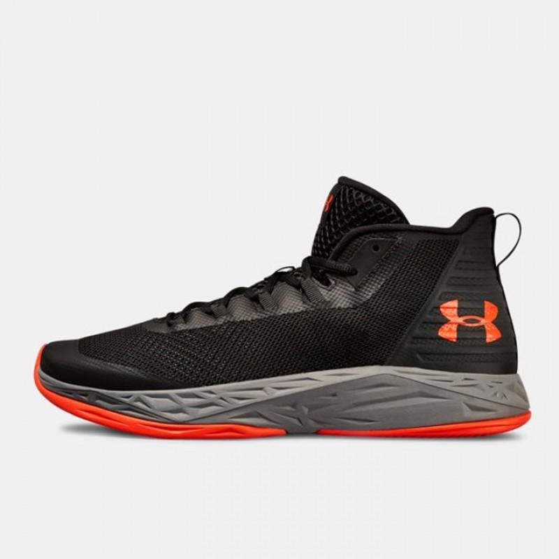 9f29ac166 Jual Sepatu Basket Under Armour Jet Mid Black Original