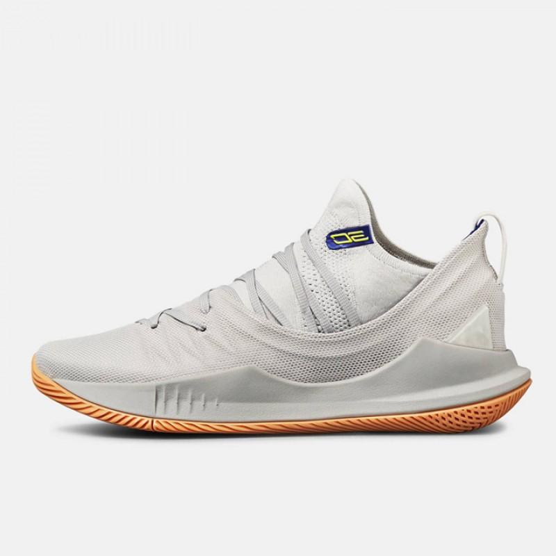 6d0b79f46fa Jual Sepatu Basket Under Armour Curry 5 Grey Original