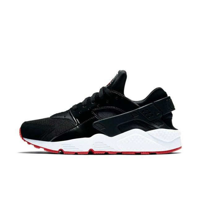 Nike Air Huarache Black Red Original