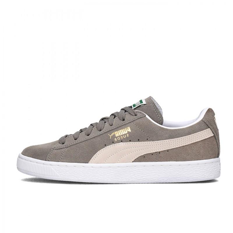 Jual Sepatu Sneakers Puma Suede Classic Grey Original  9d2a85d2d8