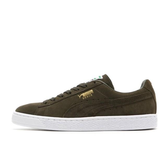 huge selection of 6cb67 0be93 Jual Sepatu Sneakers Puma Suede Classic Dark Green Original ...