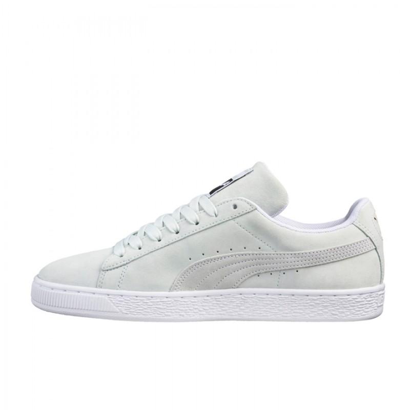 Jual Sepatu Sneakers Puma Suede Classic White Original  00caa07165