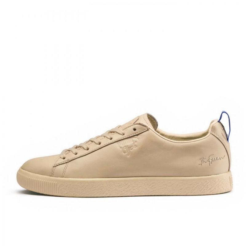 classic fit 40b98 af93e Jual Sepatu Sneakers Puma Clyde Big Sean Natural Vachetta ...