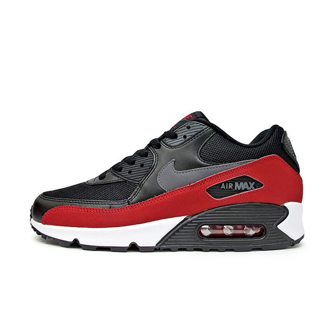 first rate ca169 9beb2 Jual Sepatu Sneakers Nike Air Max 90 Essential Black Red ...