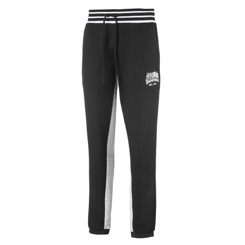 Celana Training Puma Press Knitted Fleece Sweatpants
