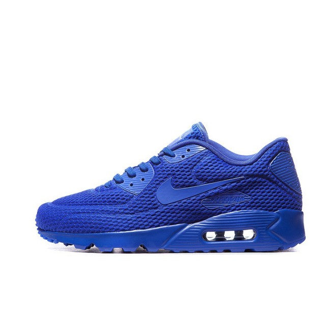 Jual Sepatu Sneakers Nike Air Max 90 Ultra Breathe Blue Original ... 2ecda7b061