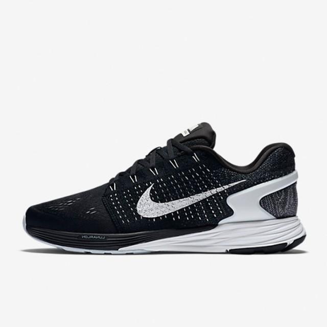 huge discount 5969d dd677 Jual Sepatu Lari Nike Lunarglide 7 Black Original   Termurah di Indonesia    Ncrsport.com