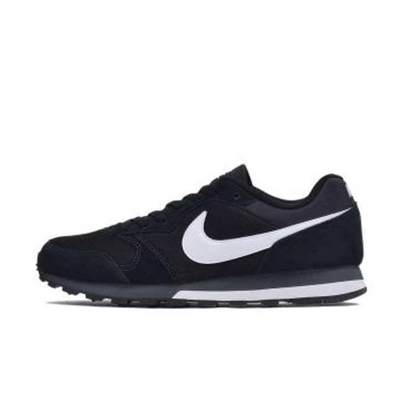Jual Sepatu Sneakers Nike MD Runner 2 Black Original  049543a3da