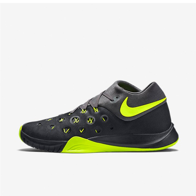 93a745918bea4 Jual Sepatu Basket Nike Zoom Hyperquickness 2015 Black Volt Original ...