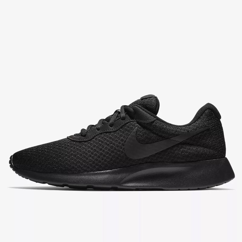Jual Sepatu Sneakers Pria Nike Tanjun Triple Black Original ...