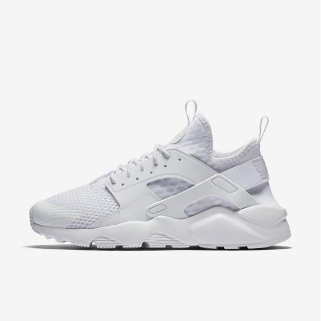 Sepatu Sneakers Nike Air Huarache Run Ultra Br Triple White