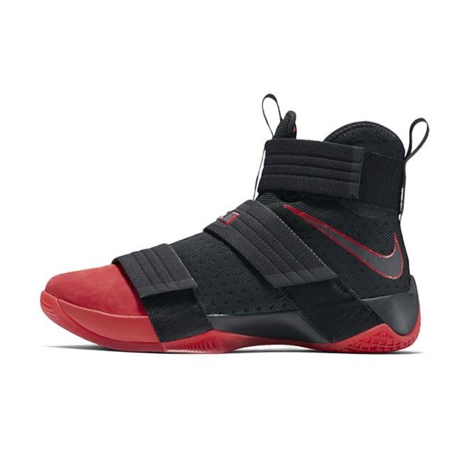 6949abf653b1f9 Jual Sepatu Basket Nike Lebron Soldier 10 Suede Red Toe Original ...