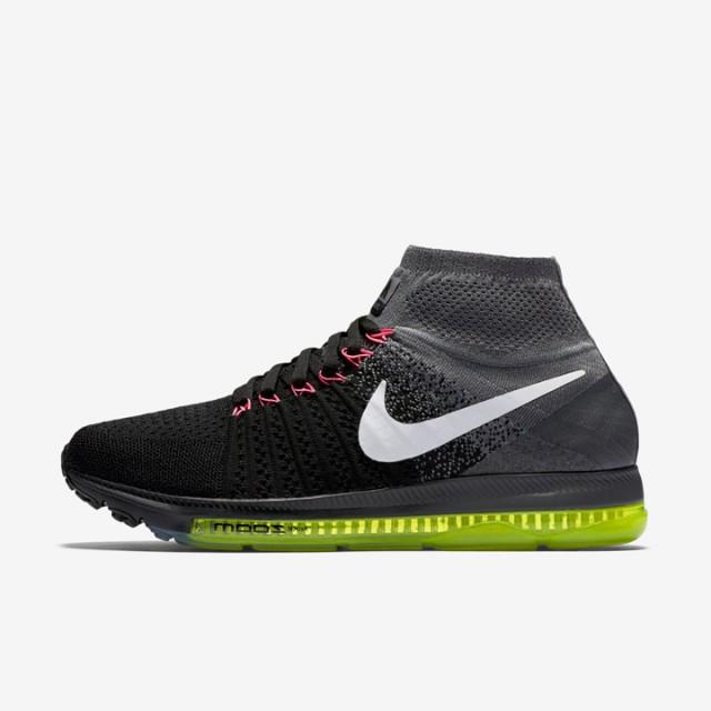 Jual Sepatu Lari Nike Wmns Air Zoom All Out Flyknit Cool Grey Original  3bd241703d