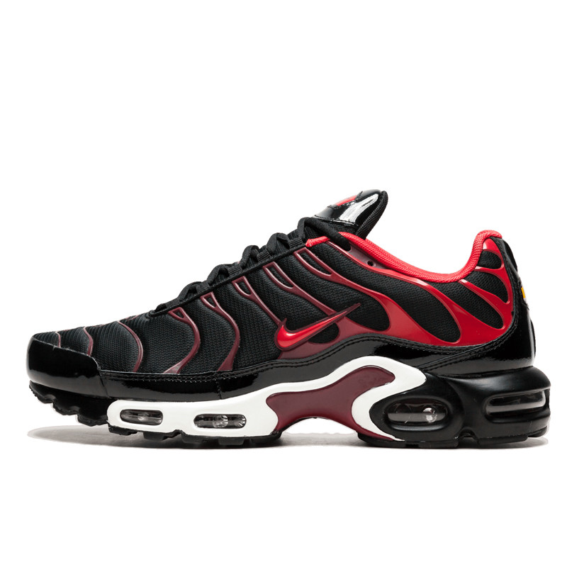 online retailer fd7b8 1e762 Jual Sepatu Sneakers Nike Air Max Plus TN Tuned 1 Black Red Original    Termurah di Indonesia   Ncrsport.com
