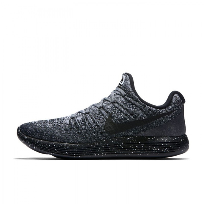 8177f63cdda3 Jual Sepatu Lari Nike LunarEpic Low Flyknit 2 Black Original ...