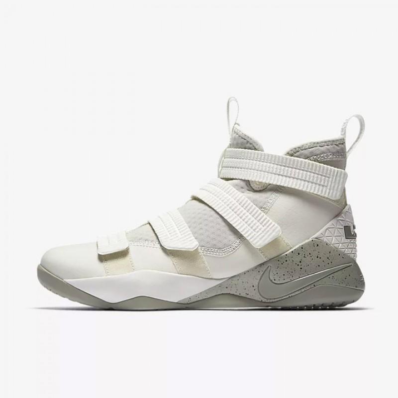 Jual Sepatu Basket Nike Lebron Soldier XI SFG Light Bone Original ... 427ff7d2f4