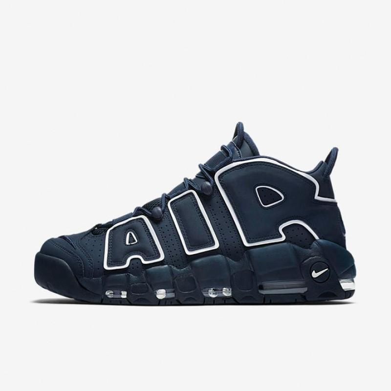 Sepatu Basket Nike Air More Uptempo Obsidian