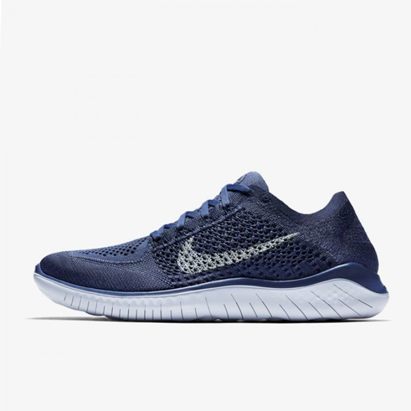 a881a678c76b ... authentic jual sepatu lari nike free rn flyknit 2018 thunder blue  original termurah di indonesia ncrsport