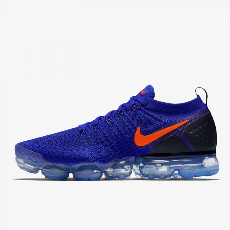4ac3aa1fe178a Jual Sepatu Lari Nike Air VaporMax Flyknit 2 Racer Blue Original ...