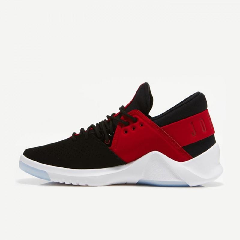 tout neuf 53b92 99357 Jual Sepatu Basket Jordan Flight Fresh Low Black Red ...