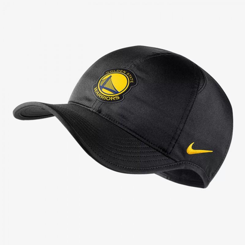 5a3d65ec56e90 ... new arrivals jual aksesoris basket nike golden state warriors nike  aerobill featherlight hat black original termurah