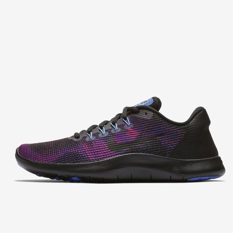 Jual Sepatu Lari Nike Wmns Flex RN 2018 Black Purple
