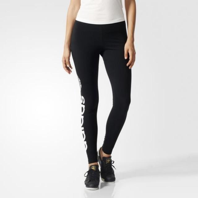 Jual Celana Sneakers Pria Adidas Linear Leggings Black Original Termurah Di Indonesia Ncrsport Com