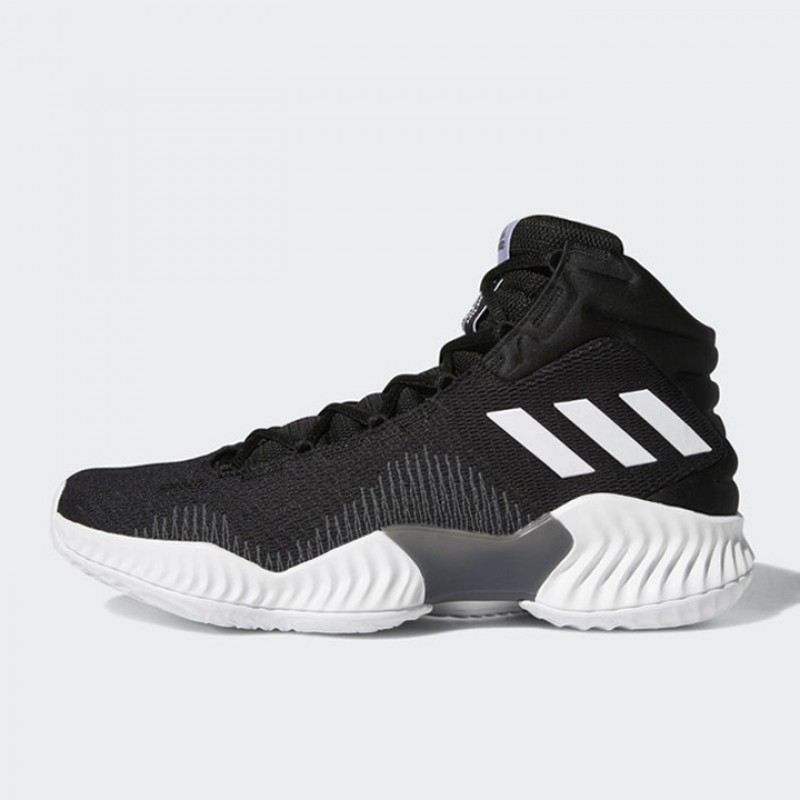Jual Sepatu Basket Adidas Pro Bounce 2018 Black White Original ... ee6155a139