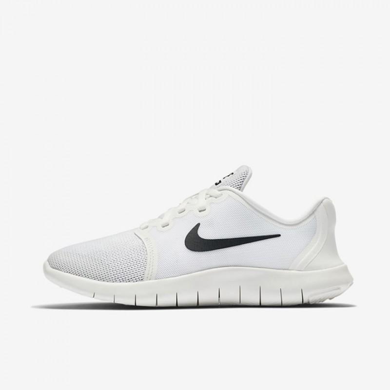 43d2fccfdd9c6 Jual Sepatu Lari Nike Flex Contact 2 GS White Platinum Original ...