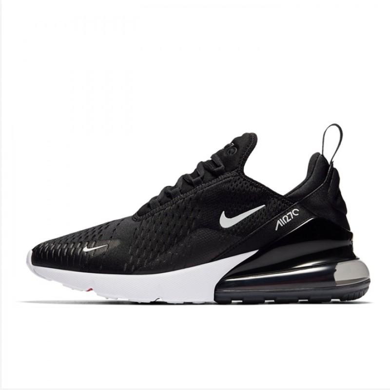 Jual Sepatu Sneakers Nike Air Max 270 Black White Original