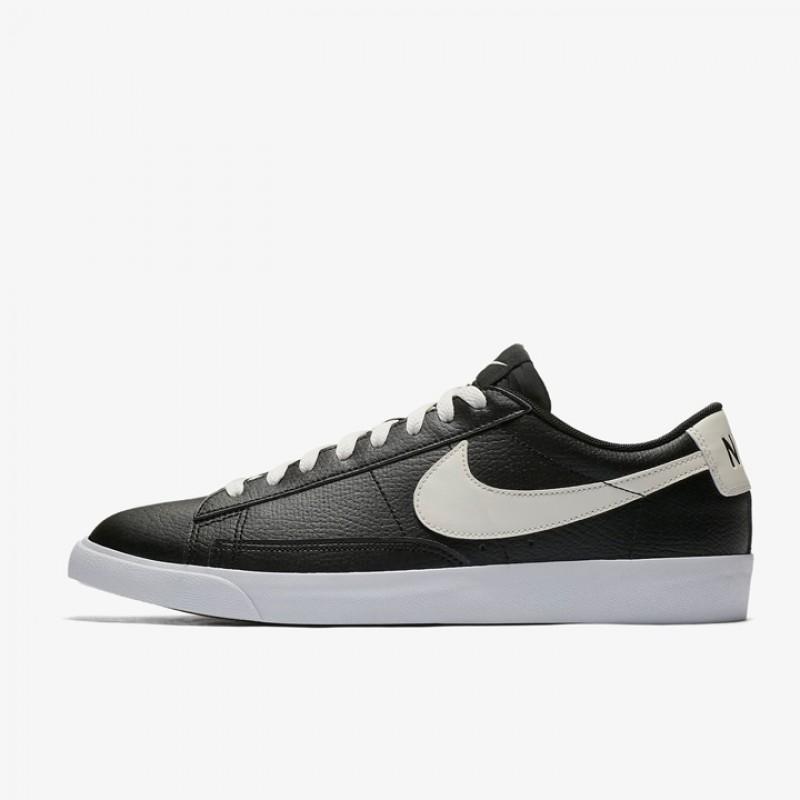 super popular 5be76 b65a0 Jual Sepatu Sneakers Nike Blazer Low Leather Black Original ...