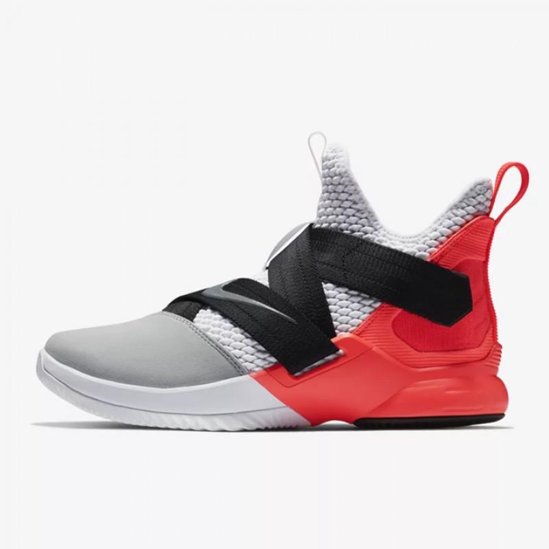 dae1d39652772 Jual Sepatu Basket Nike Lebron Soldier XII SFG Flash Crimson Original