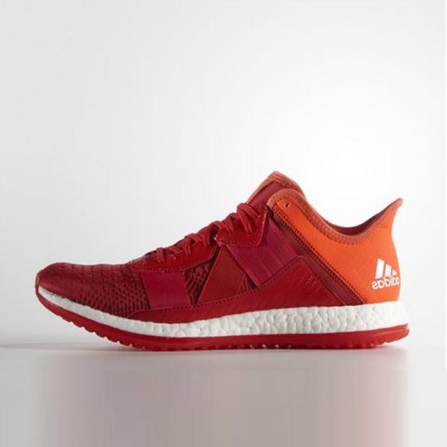 Jual sepatu lari Adidas Pure Boost ZG entrenador Rojo Original