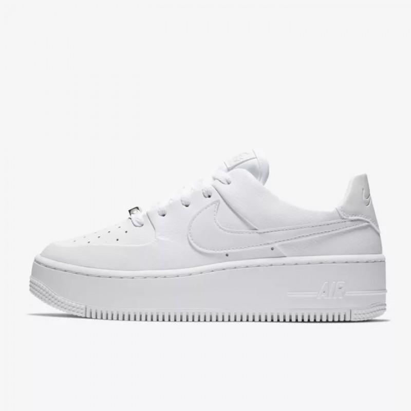 Jual Sepatu Sneakers Nike Wmns Air Force 1 Sage Low Triple