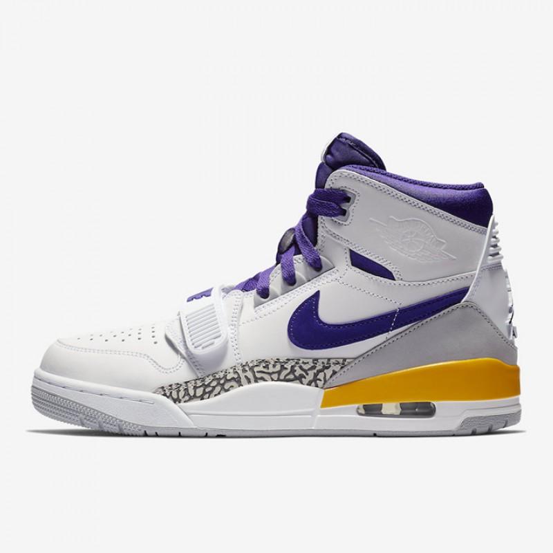 timeless design c7101 c3bfa Jual Sepatu Basket Jordan Legacy 312 Lakers Original   Termurah di  Indonesia   Ncrsport.com