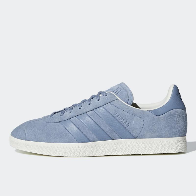 Womens Adidas Training Shoe Gazelle Stitch and Turn Blue