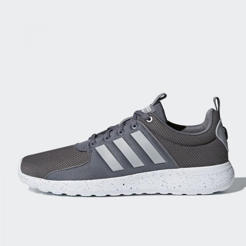 Jual Sepatu Lari Adidas Cloudfoam Lite Racer Grey Original ... 826a7c85cf