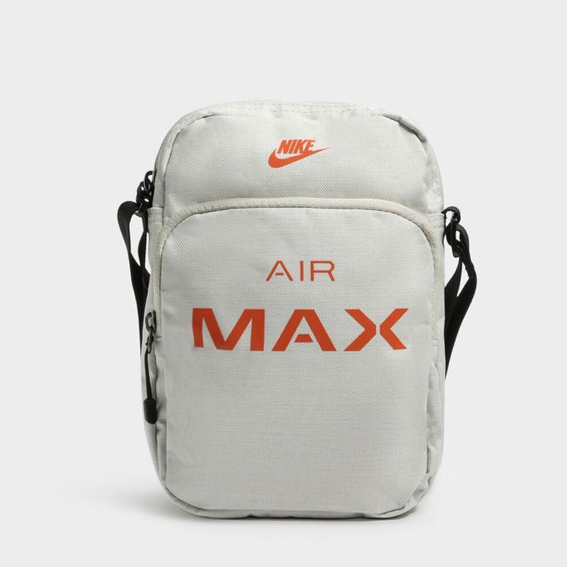 Jual Tas Sneakers Pria Nike Air Max Small Items Bag Light Bone Original Termurah Di Indonesia Ncrsport Com