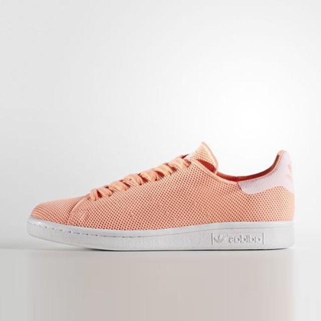jual sepatu scarpe adidas wmns stan smith orange originale