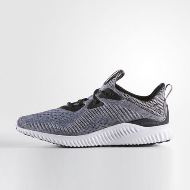 Jual Sepatu Lari Adidas Alphabounce Grey Original  423481aff3