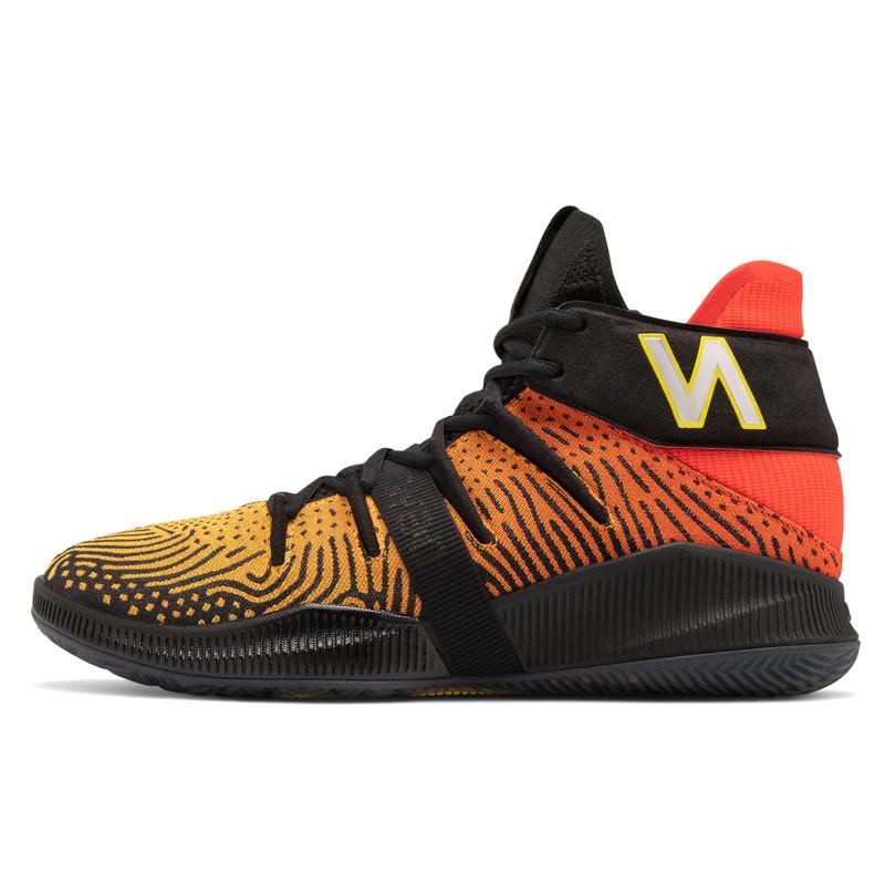 Sepatu Basket New Balance Kawhi Leonard Omn1s Sunset Pack Black Orange