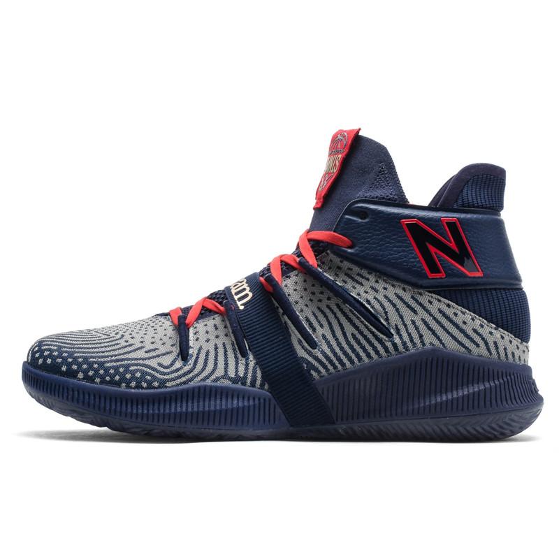 Sepatu Basket New Balance Kawhi Leonard Omn1s Black History Month Navy