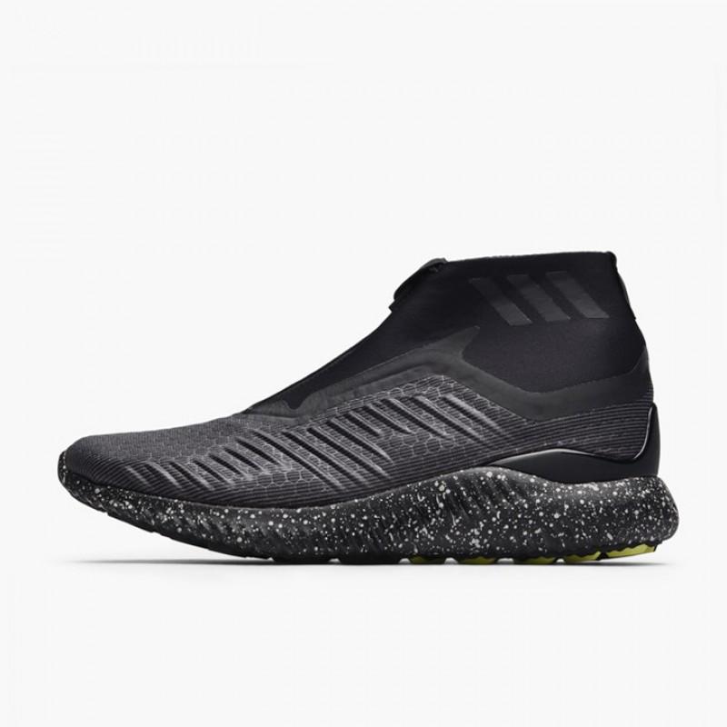 31d30be91 Jual Sepatu Sneakers Adidas Alphabounce Mid Zip Black Original ...