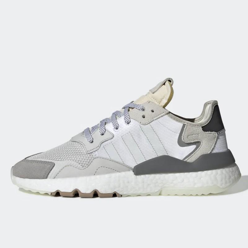 d8bb53c6e82c6 Jual Sepatu Sneakers Adidas Nite Jogger Cloud White Original ...