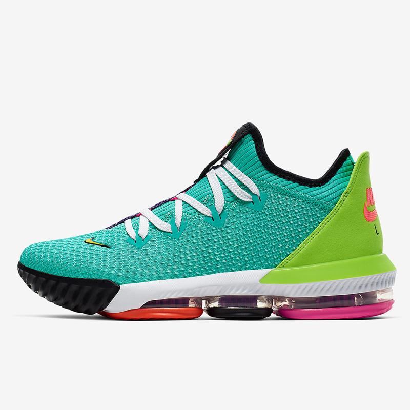 finest selection 4c23b b1ba2 Jual Sepatu Basket Nike Lebron 16 Low Hyper Jade Original ...