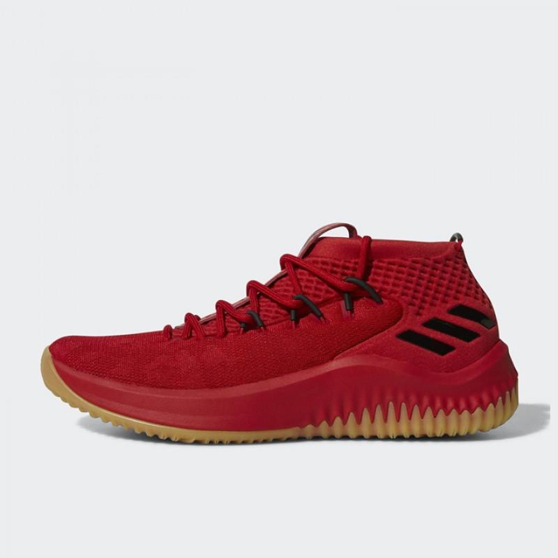 0374ac7d0ec Jual Sepatu Basket Adidas Dame 4 Red Gum Original