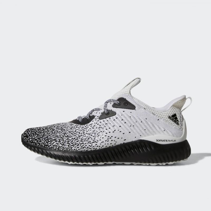 35e7c0143 Jual Sepatu Lari Adidas Alphabounce CK Black White Original ...